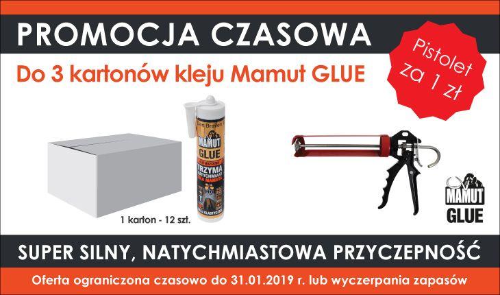 klej Mamut + promocja