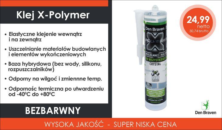 Klej X-Polymer Crystal