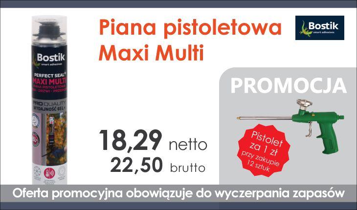 Piana pistoletowa Maxi Multi