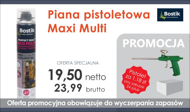 Piana pistoletowa Maxi Multi-promocja