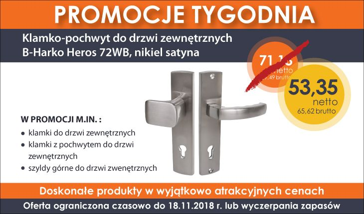 Promocje tygodnia do 18-11-2018