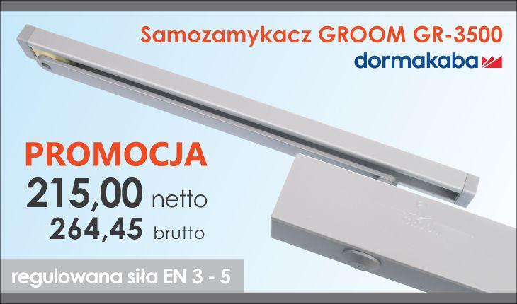 Samozamykacz GROOM GR-3500