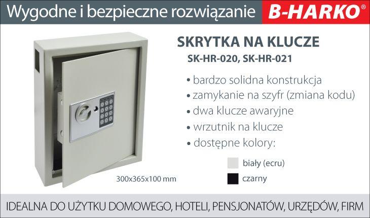 Skrzynka szyfrowa na klucze B-Harko