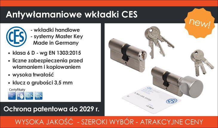 wkładki CES