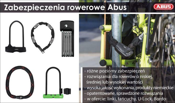 Abus-zabezpieczenia rowerowe