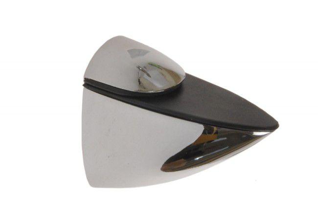Podpórka półki szklanej 42 chrom (75x35, gr.szyby do 25 mm)
