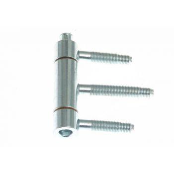 Zawiasa 320-200 Otlav wkręcana galwanizowana 3-cz. 20 mm ocynk srebrny