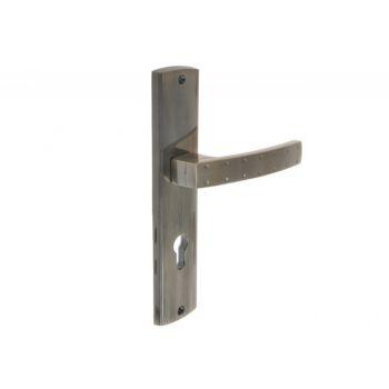 Klamka zewnętrzna drzwiowa INFINITY NERON 72WB prawa patyna
