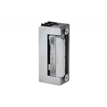 Zaczep elektromagnetyczny R-4 krótki 12 V z blokadą i pamięcią