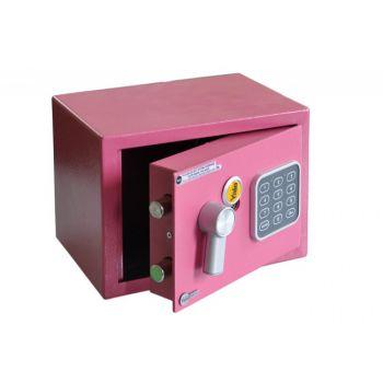 Sejf podstawowy YALE mini (YSV/170/DB1/P-CW), różowy