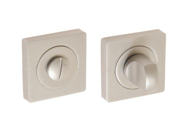 Tarczka kwadratowa WC nikiel velvet (CANNA, SALVIA)