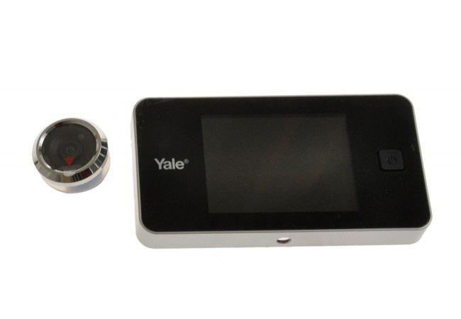 "Cyfrowy wizjer drzwiowy YALE DDV 500, ekran LCD 3,2"""