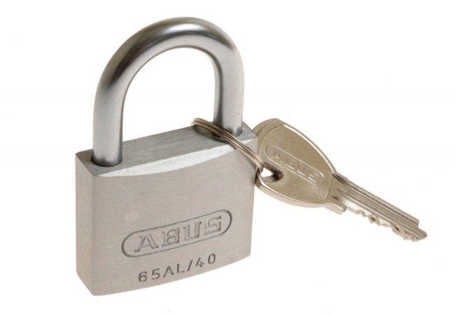 Kłódka Abus titalium 20 mm, 3 klucze w kpl/  727TI/20