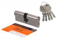 Wkładka bębenkowa LOBIX XT WNP600-30/40 nikiel matowy 5 kluczy