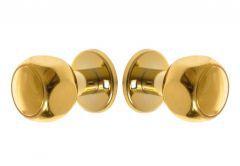 Gałko-gałka drzwiowa obrotowa nowe złoto
