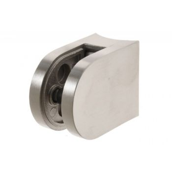 (41) Uchwyt szkła owalny na rurę D42,4/50x40 mm  AISI304, SP A/2000/042