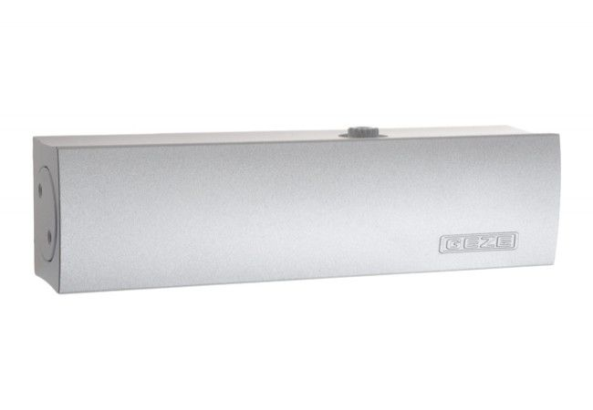 Samozamykacz GEZE TS 2000 V bez ramienia srebrny(szt.) EN 2/4/5 ( 103386) (skrzydło do 100 kg,max.szer.1250 mm)