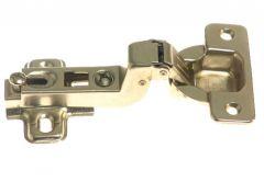 Zawias puszkowy metalowy z prowadnikiem FI-35 odgięty