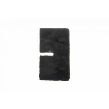 (49) Uszczelka gumowa do kwadratowego uchwytu szkła, gr. 6 mm, model 21 SP A19/21-006