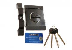 Zamek Gerda ZXL grafit długi klucz GT8 (85mm)