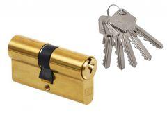 Wkładka bębenkowa LOB ARES WS52-30/30  A-2 mosiądz 5 kluczy