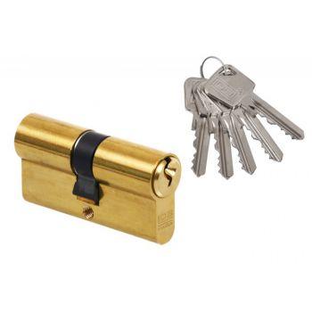 Wkładka bębenkowa LOB ARES WS52-30/30  A-2 mosiądz 5-kluczowe