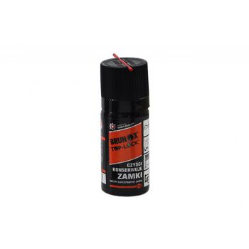 Preparat Brunox Top-Lock Spray do konserwacji wkładek, zamków, kłódek 50ml