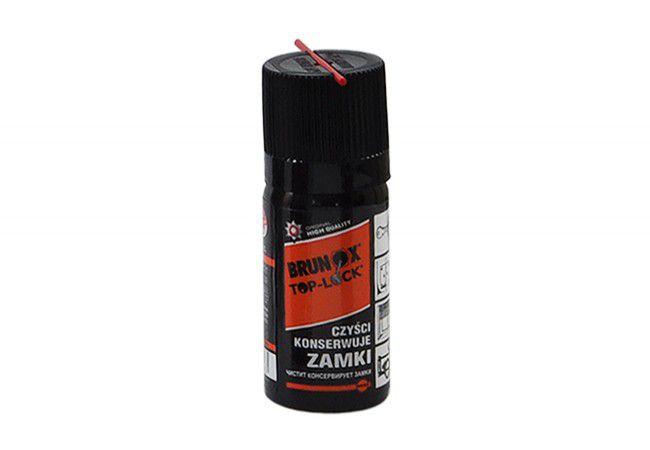 Preparat Brunox Lock Spray do konserwacji wkładek, zamków, kłódek 50ml