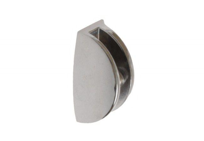 Podpórka półki szklanej 31 chrom (50x25, gr.szyby do 10 mm)