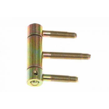Zawiasa 320-200 Otlav wkręcana galwanizowana 3-cz. 20 mm z zabezpieczeniem