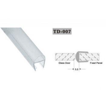 Uszczelka do kabin prysznicowych TD-007 10 mm 2,2 mb(US-HR-009)