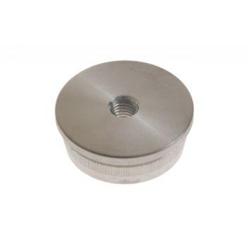 (13) Zaślepka wbijana na rurę D=42,4 mm z gwintem M8, nierdzewna AISI304 (A/5736-242)