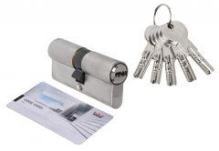 Wkładka bębenkowa DORMA DEC 261 35/40, nikiel 5 kluczy, (atest kl. 6.2 C), bezpieczne sprzęgło