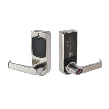 Klamka elektroniczna VG-BL1 zdalnie zarządzana, otwierana na PIN, trzpień 8x8 mm