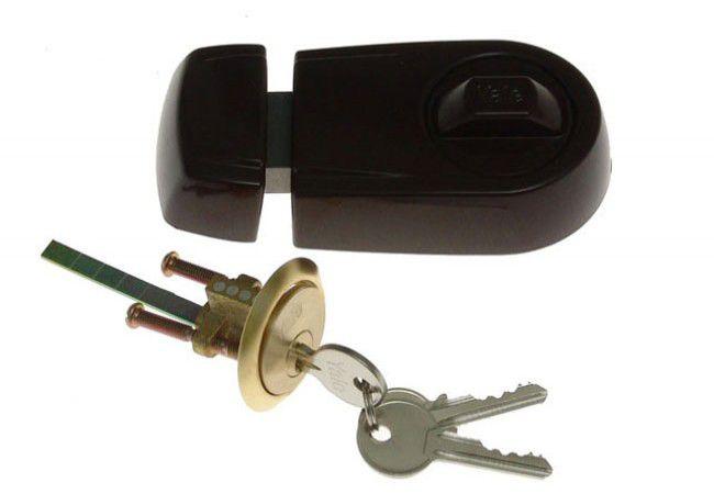 Zamek wierzchni YALE Y2T brązowy klucz nacinany