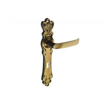 Klamka patyna MAKI 72 klucz