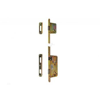 Zamek drzwiowy 90/50 zespolony podwójny lewy