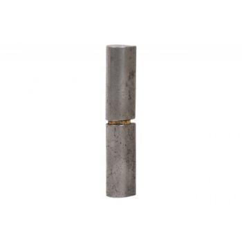 Zawias toczony wyoblony z podkładką mosiężną 22x180 mm