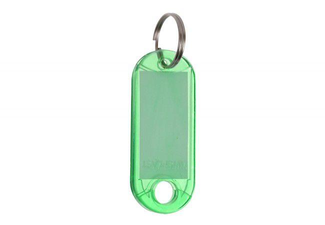 Identyfikator plastikowy 2-stronny jeden kolor