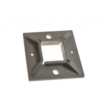 (26) Stopa montażowa profil 40x40 AIS304, 100x100/40x4