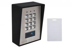 Zamek szyfrowy EURA  AC-17A1-2 wejścia karta zbliżeniowa natynk Wiegand przycisk dzwonka