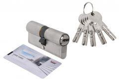 Wkładka bębenkowa DORMA DEC 261 50/60, nikiel 5 kluczy, (atest kl. 6.2 C), bezpieczne sprzęgło