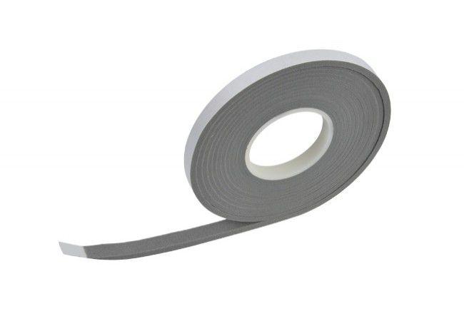 """Taśma  ISO-BLOCO 300 """"PREMIUM EDITION"""" szara 15/5-12 mm sprężona, jednostronnie samoprzylepna(5,6mb)"""