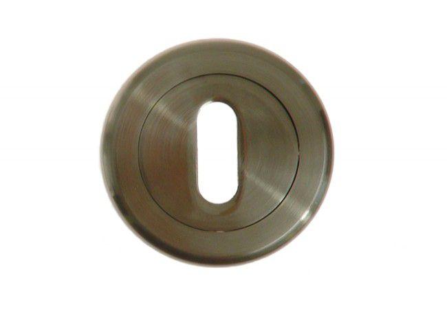 Szyld okrągły KL satyna chrom (RODOS)