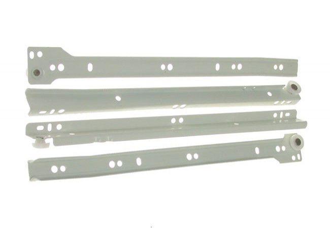 Prowadnica rolkowa do szuflad PR-1011-500 biała