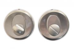 Tarczka okrągła WC REGULUS chrom matowy T-004-104 G6