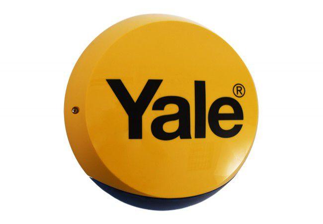 Syrena zewnętrzna Yale (kompatybilna z zestawami YALE serii HSA6000), żółta