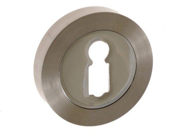 Szyld drzwiowy n/klucz nikiel/chrom (KORA)
