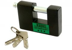 Kłódka trzpieniowa KABRO C3-27 certyfikat klasy 3