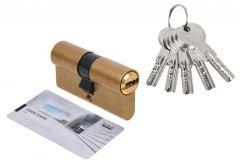 Wkładka bębenkowa DORMA DEC 261 30/30, mosiądz 5 kluczy, (atest kl. 6.2 C)